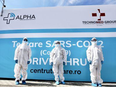 Centru Testare Arad -  Alpha Drive Thru